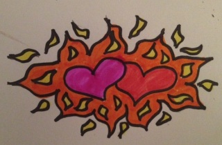 Hearts Aflame with Passion (Duh)